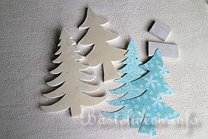 basteln mit holz zu weihnachten deko weihnachtsb ume. Black Bedroom Furniture Sets. Home Design Ideas