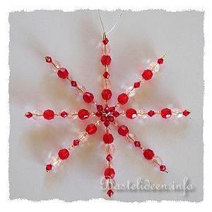 Weihnachtsbasteleien basteln mit kindern perlenstern - Bastelideen nikolaus ...