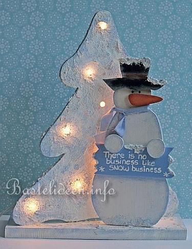 weihnachten laubsaegearbeit schneemann und weihnachtsbaum. Black Bedroom Furniture Sets. Home Design Ideas