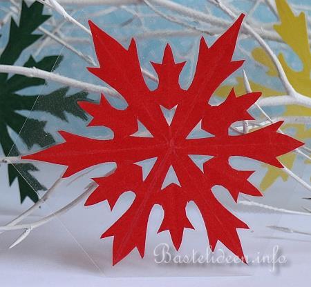 weihnachtsbasteln papier schneeflocken basteln. Black Bedroom Furniture Sets. Home Design Ideas