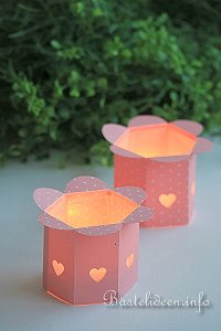 Teelichthalter Basteln basteln im frühling teelichthalter bastelvorlage