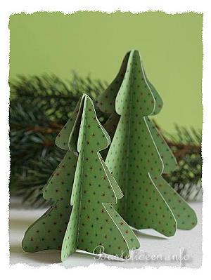 basteln mit papier weihnachten weihnachtsbaum in 3 d. Black Bedroom Furniture Sets. Home Design Ideas