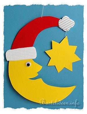 Weihnachtsbasteln basteln zu weihnachten fensterbild - Bastelideen nikolaus ...