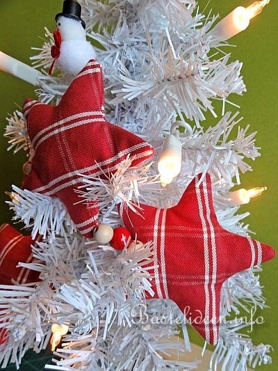 weihnachtsbasteln n hen f r weihnachten stern girlande. Black Bedroom Furniture Sets. Home Design Ideas