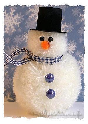 basteln mit kindern zu weihnachten und im winter frosty. Black Bedroom Furniture Sets. Home Design Ideas