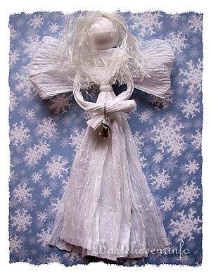 Weihnachtsbasteln Papier.Weihnachtsbasteln Basteln Mit Papier Engel