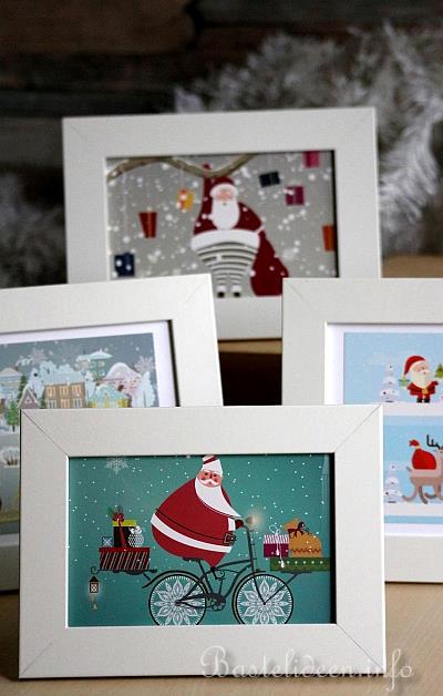 5 minuten dekoration f r weihnachten weihnachtliche bilder. Black Bedroom Furniture Sets. Home Design Ideas
