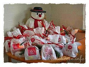 basteln mit papier weihnachten schneller adventskalender. Black Bedroom Furniture Sets. Home Design Ideas