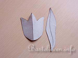 bastelanleitung - tulpen aus papier, Deko ideen