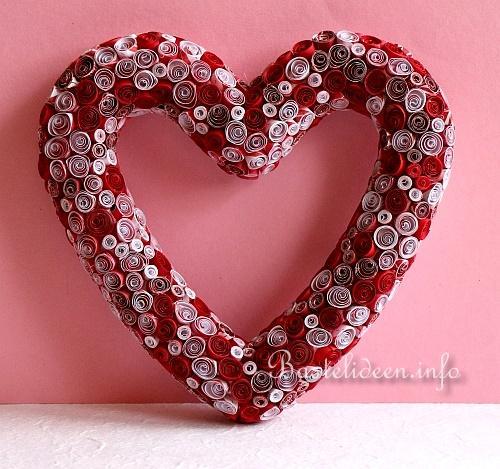 Basteln Herz Dekoration F R Romantische Anl Sse