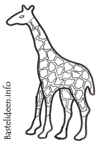 Giraffe Malvorlagen Zum Ausdrucken 10