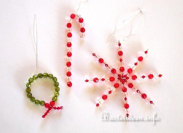 Weihnachtsbasteleien Basteln Mit Kindern Perlenstern