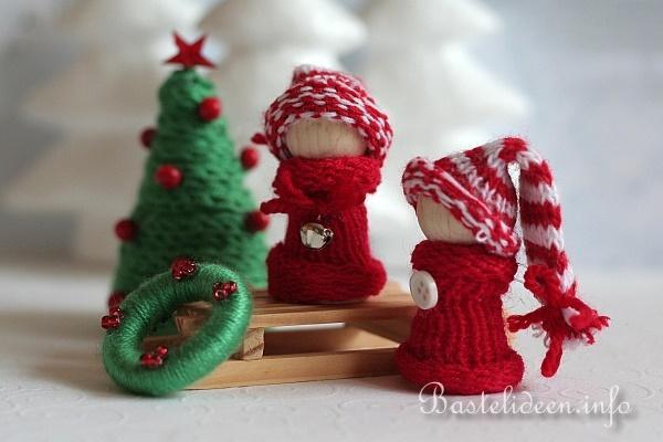 Weihnachtsbasteln winterliche dekoration - Winterliche dekoration ...