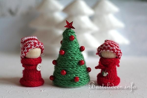 Weihnachten basteln – Bastelanleitung aus Tannenzweigen und
