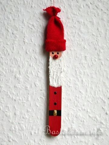 Basteln mit kindern weihnachten weihnachtsbasteleien a sager nikolaus baumanh nger - Nikolaus bastelideen ...