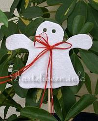 Kostenlose bastelvorlage gespenst for Halloween basteln mit kindern kostenlos