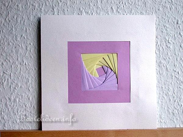 basteln mit papier ostern und fruehling falt ideen mit papier iris falten. Black Bedroom Furniture Sets. Home Design Ideas