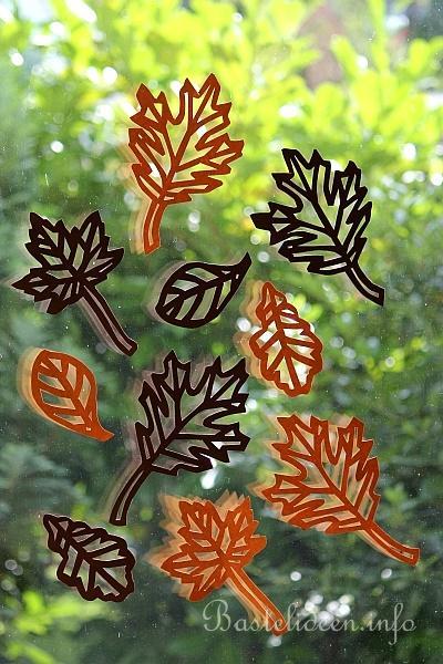 Basteln Im Herbst Herbstliche Blätter Basteln