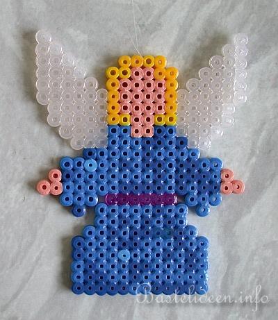 Basteln Zu Weihnachten Basteln Mit Kindern Bügelperlen Engel