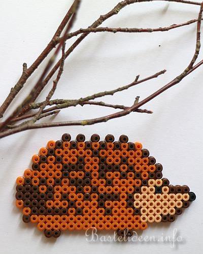Basteln Im Herbst Mit Kindern Bugelperlen Igel