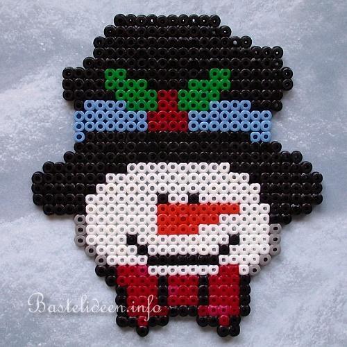 Basteln mit Kindern zu Weihnachten und Winter - Frosty der ...