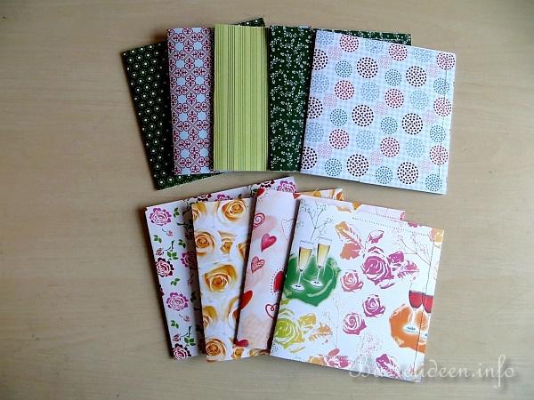 Basteln Mit Papier Einfacher Cd Umschlag