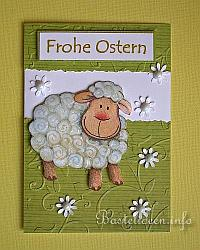 Frohe Ostern - Schaf