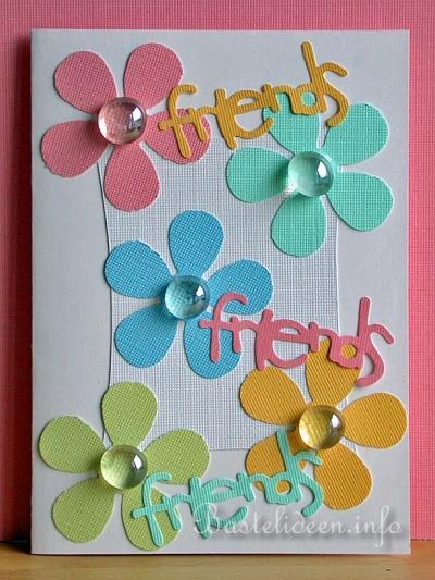 Geburtstagskarten Selber Basteln Friends Karte