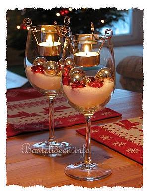 Basteln Weihnachten Schnelle Weihnachtsdekoration