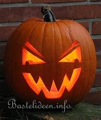 Halloweenbasteln Anleitung Zum Herstellen Eines Halloween Kürbis