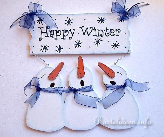 winterbasteln mit holz happy winter t rschild. Black Bedroom Furniture Sets. Home Design Ideas