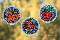 Bastelideen Mit Bastelvorlagen Fensterbilder Basteln