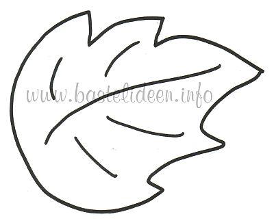 Herbstblatter Vorlage Ideal Zum Ausmalen 7 7