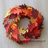 Bastelideen Basteln Mit Papier Herbst Und Halloween