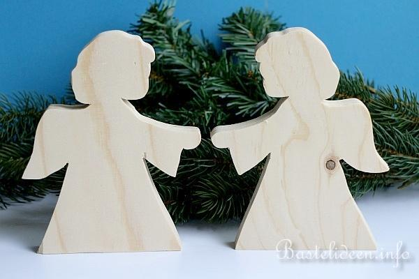 Weihnachtsbastelideen engel laubsaegearbeit - Engel basteln holz ...