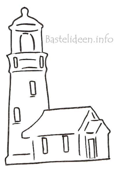 leuchtturm malen vorlage - vorlagen zum ausmalen gratis