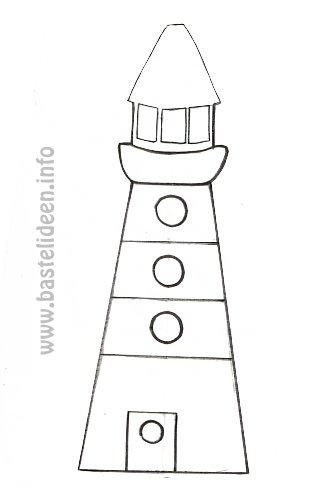 Kostenlose malvorlagen sommerbasteln malvorlage leuchtturm for Leuchtturm basteln