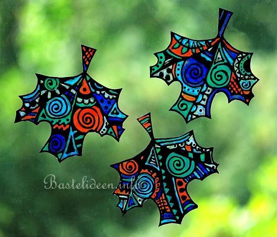 Malen Für Erwachsene Window Color Herbstblätter