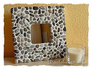 sommerbasteln mosaik spiegel. Black Bedroom Furniture Sets. Home Design Ideas