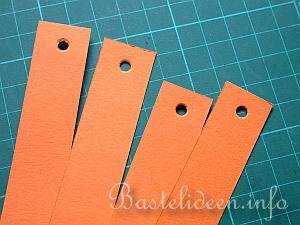 Herbstbasteln mit kindern papier k rbis - Basteln mit papierstreifen ...