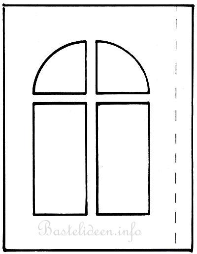 kostenlose bastelvorlage weihnachtliche papierlaterne. Black Bedroom Furniture Sets. Home Design Ideas