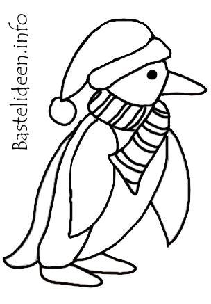 Weihnachten und Winter - Kostenlose Bastelvorlage oder Malvorlage ...