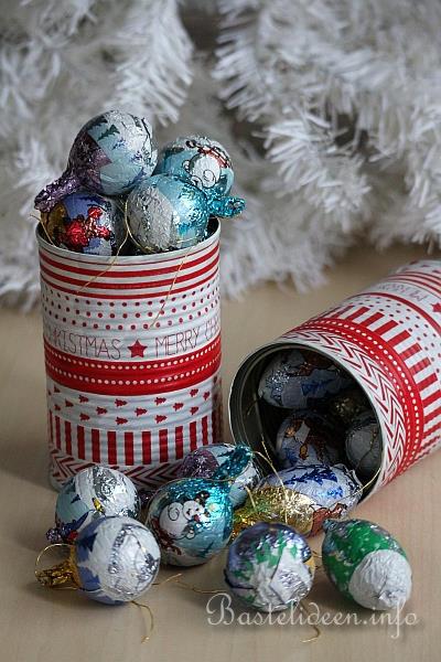 geschenkidee f r weihnachten recyclingbasteln. Black Bedroom Furniture Sets. Home Design Ideas