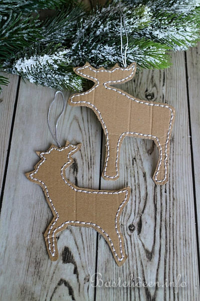 Basteln zu weihnachten baumschmuck oder geschenkanh nger - Weihnachtsbaum aus pappe ...
