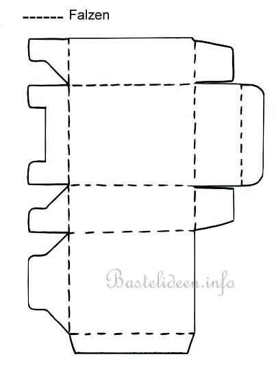 bastelvorlage schachtel. Black Bedroom Furniture Sets. Home Design Ideas