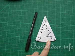 Anleitung Papier Schneeflocken Basteln