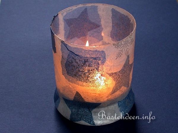 weihnachtsbasteln serviettentechnik windlichtglas. Black Bedroom Furniture Sets. Home Design Ideas