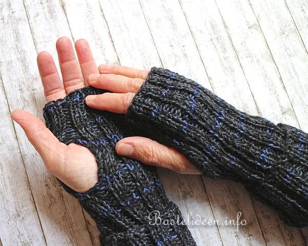 Stricken im Winter - Einfache Armstulpen Stricken