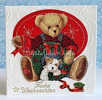 Weihnachtskarten und winter geburtstagskarten basteln - Niedliche weihnachtskarten ...