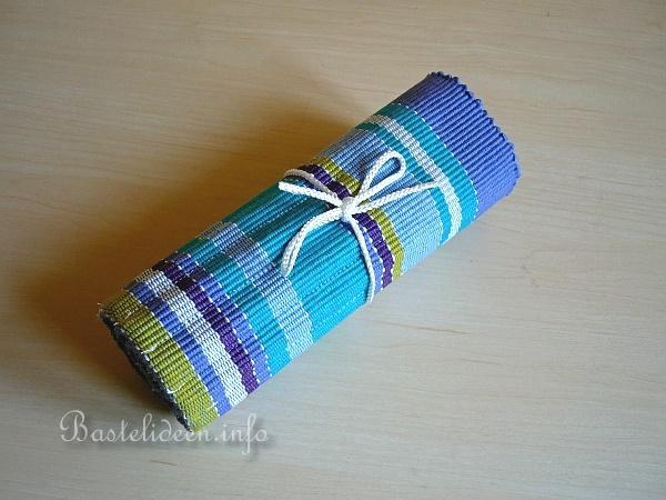 textiles n hen und basteln bleistift rolle aus einem. Black Bedroom Furniture Sets. Home Design Ideas